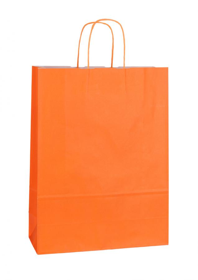 Papiertragetasche SPEKTRUM ORANGE 32*13*42