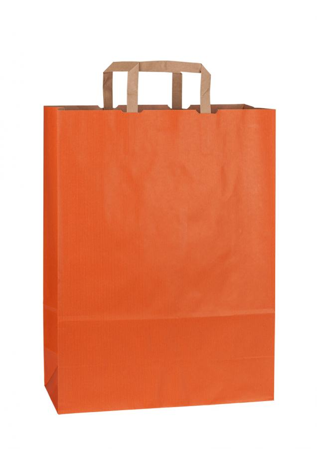 Papiertragetasche RAINBOW ORANGE 44*14*50