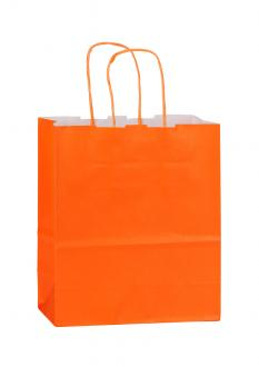 Papiertragetasche SPEKTRUM ORANGE 18*8*25