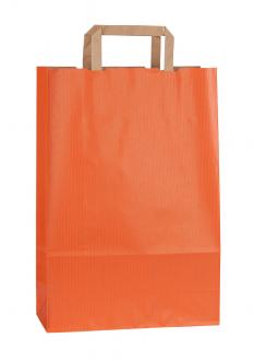 Papiertragetasche RAINBOW ORANGE 26*11*38