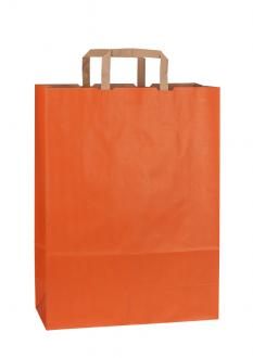 Papiertragetasche RAINBOW ORANGE 32*13*42,5