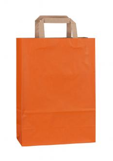 Papiertragetasche RAINBOW ORANGE 23*10*32